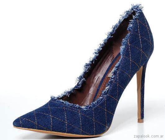 Stilettos de jeans primavera verano 2018 - Tivoglio Bene