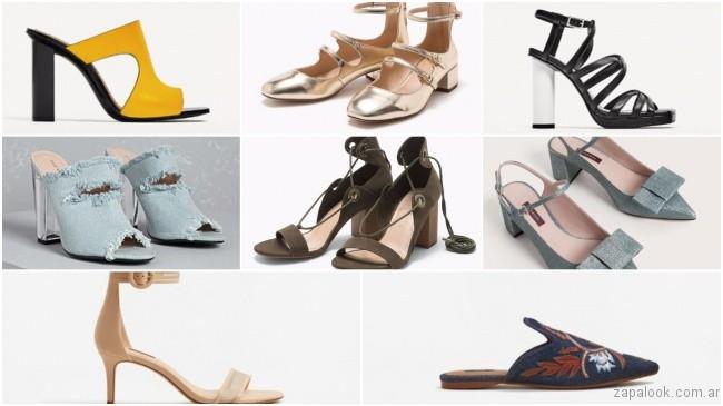 tendencias calzados de moda primavera verano 2018