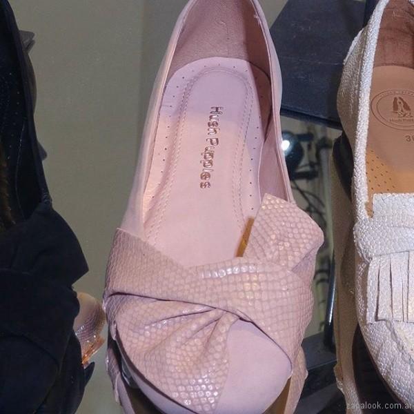 balerinas rosa verano 2018 - hush puppies