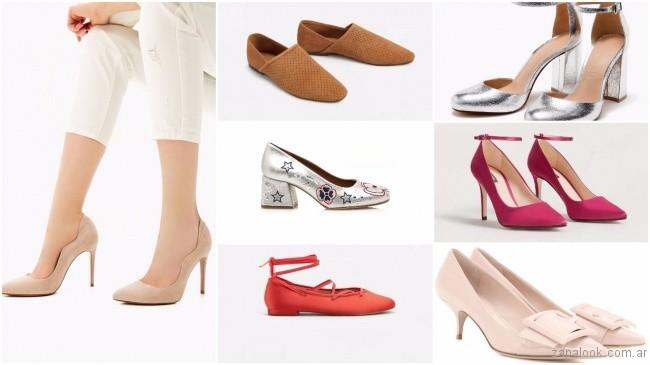 447115ea8 Zapatos de moda primavera verano 2018. En zapatos cerrados para la proxima  temporada siguen los siempre vigente stilettos
