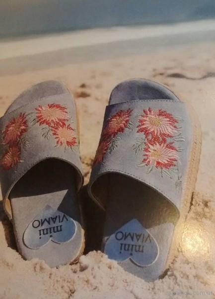 sandalias bordadas verano 2018 - VIAMO