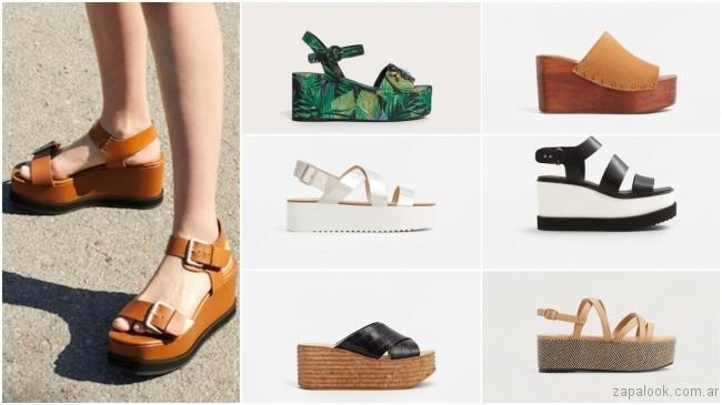 precio de fábrica buscar original comprando ahora sandalias con bases altas – tendencias de moda primavera ...