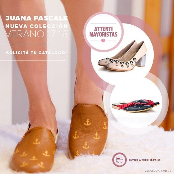 zapatos Juana Pascale primavera verano 2018