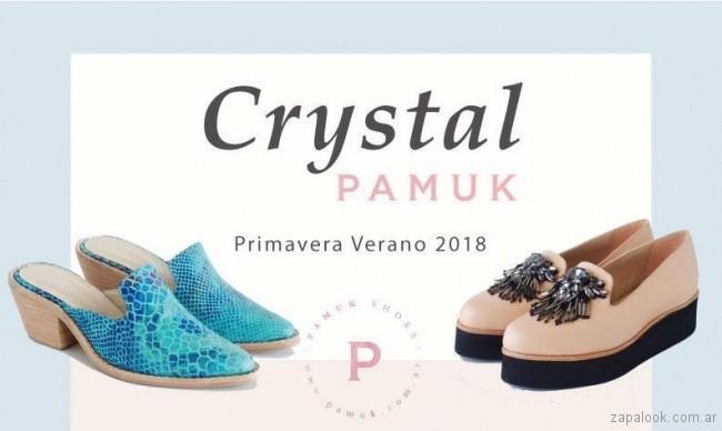 zapatos Pamuk primavera verano 2018