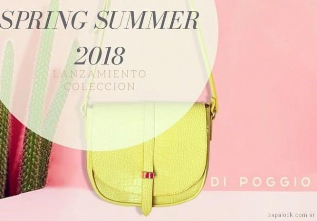Di Poggio bandolera amarilla verano 2018