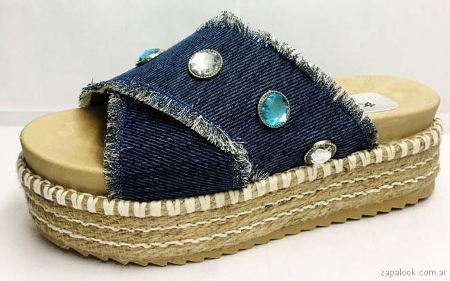 sandalias de jeans verano 2018 - RH by Lali Ramirez