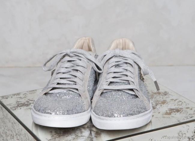 Zapatillas metalizadas primavera verano 2018 - Rapsodia