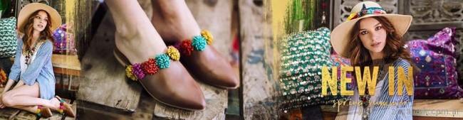 Zapatos bajo con punta sin talon - mules marrones verano 2018 - Marignan