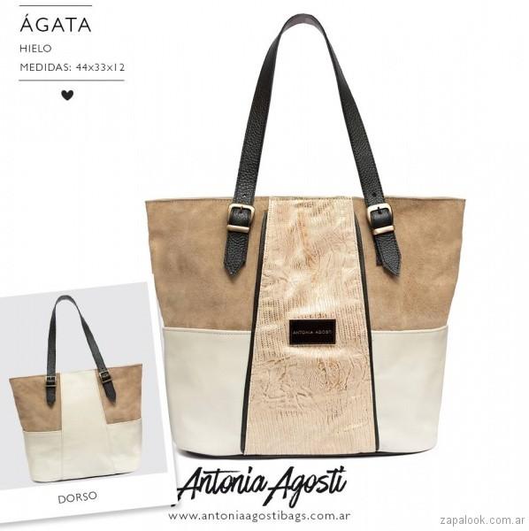 cartera grande verano 2018 Antonia Agosti Bags