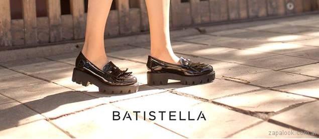 mocasines de charol primavera verano 2018 Batistella