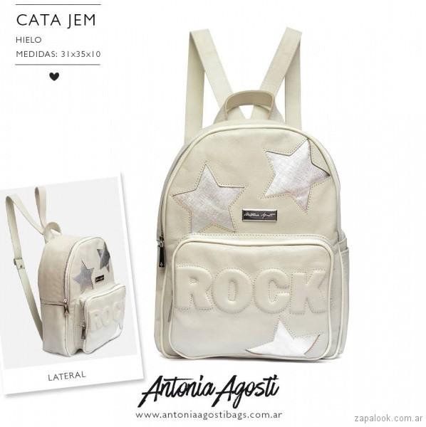 mochila con estrellas verano 2018 Antonia Agosti Bags