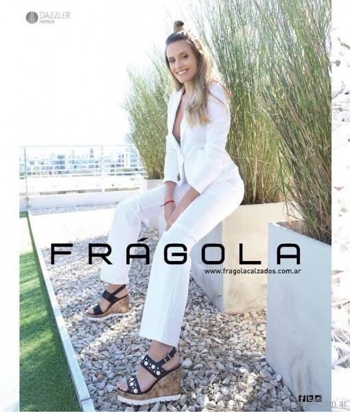 sandalias altas simil corcho verano 2018 - Fragola