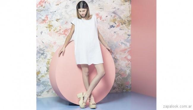 sandalias con plataformas - calzado juvenil verano 2018 - Sofi Martiré