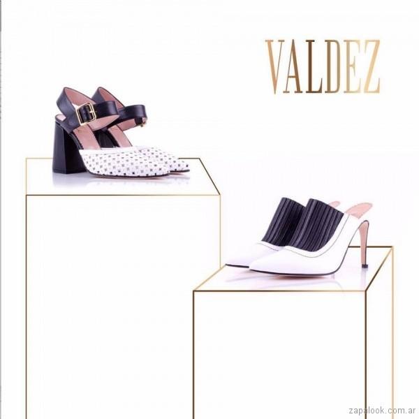zapatos calados primavera verano 2018 - Valdez