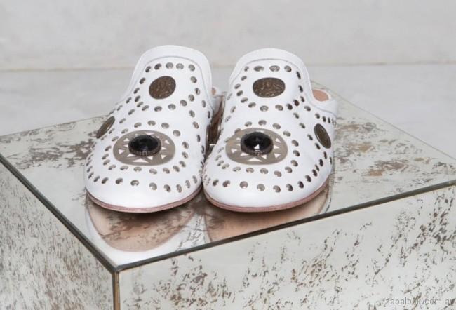 zapatos con tachas primavera verano 2018 - Rapsodia