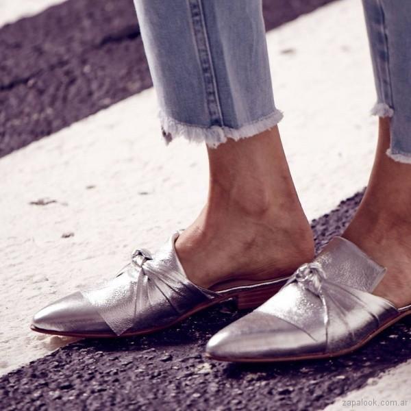 zapatos mules primavera verano 2018 - Justa Osadia