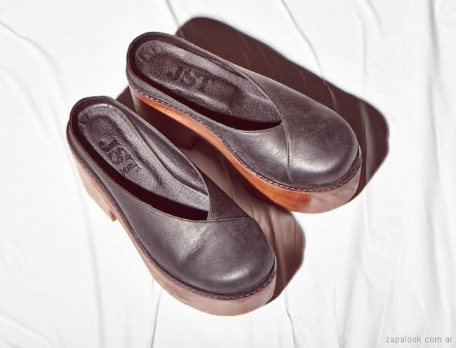 zapatos negros primavera verano 2018 - Justa Osadia