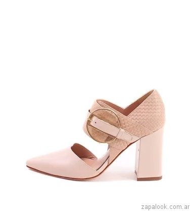 zapatos stilettos tacos gruesos verano 2018 - Save 3201717a61cb