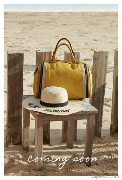 Bolso amarillo primavera verano 2018 - Tropea