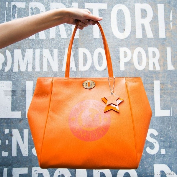 cartera naranja verano 2018 - Jackie Smith