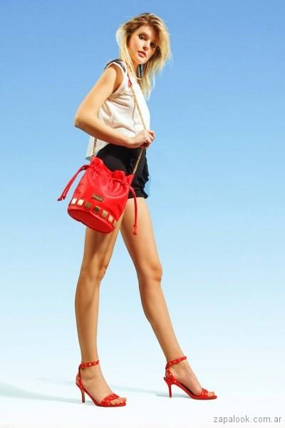 cartera roja verano 2018 The Bag Belt