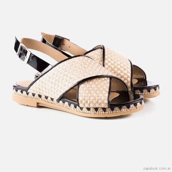 sandalias de yute primavera verano 2018 - La Leopolda