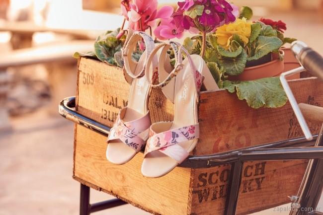 sandalias estampadas verano 2018 - Calzados Gravagna