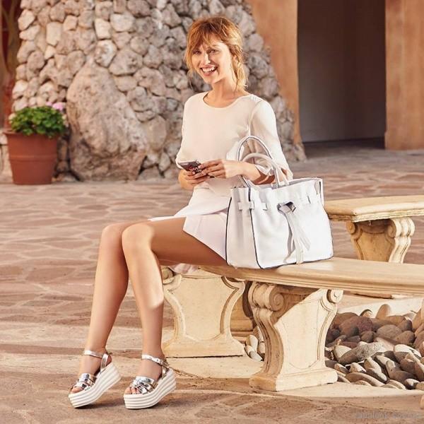 sandalias plateadas verano 2018 - Calzados Gravagna