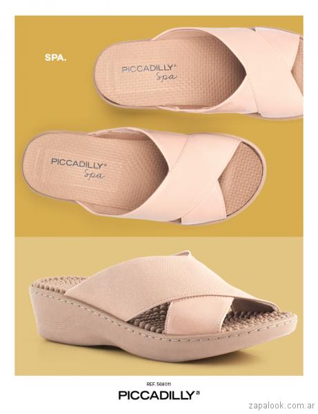 sandalias rosadas verano 2018 - Piccadilly