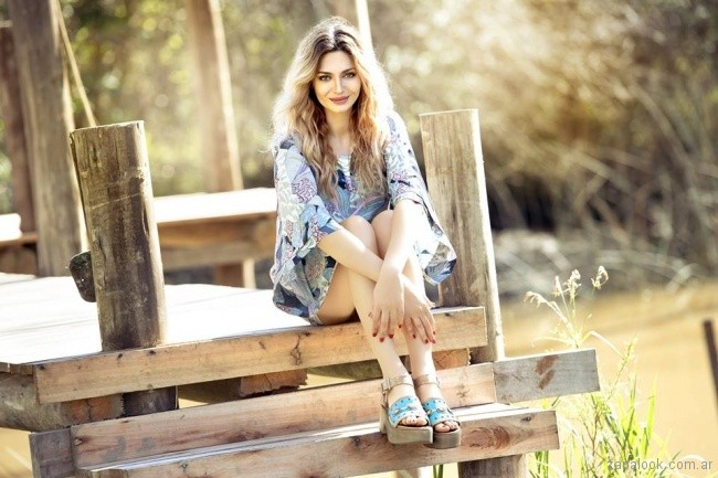 sandalias turquesas primavera verano 2018 - Laura Constanza