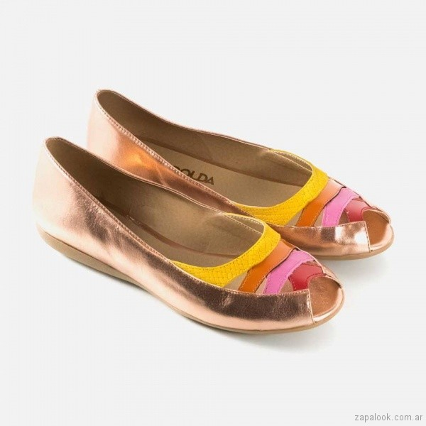 zapato chato primavera verano 2018 - La Leopolda