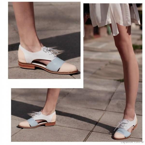 zapato tonos pasteles primavera verano 2018 - Cestfini