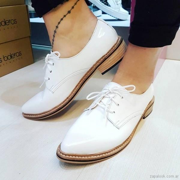 zapatos abotinados primavera verano 2018 - Las Boleras