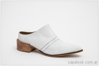 zapatos blancos verano 2018 - JOW