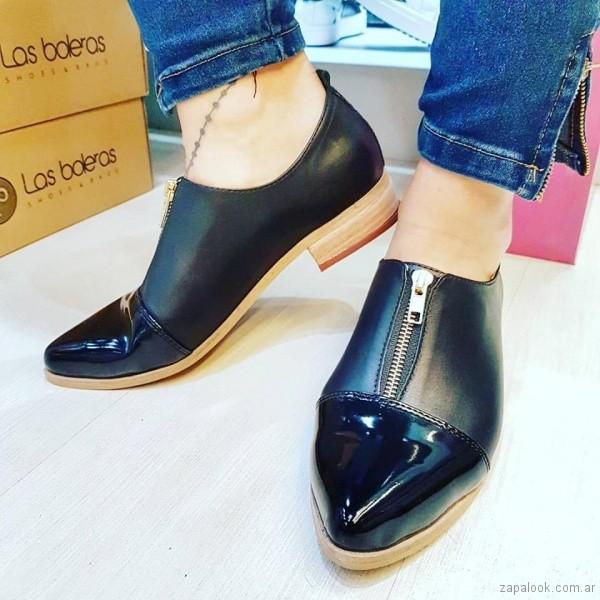 zapatos con cierre primavera verano 2018 - Las Boleras