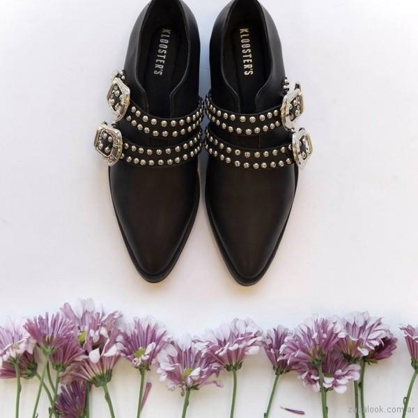 zapatos con tachas primavera verano 2018 - Kloosters