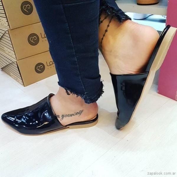 zapatos de charol primavera verano 2018 - Las Boleras