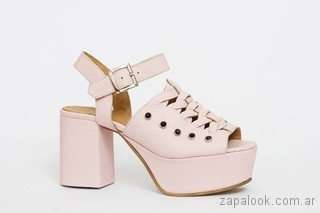 zapatos rosados verano 2018 - JOW