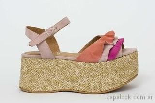 zapatos sandalias con plataformas verano 2018 - JOW