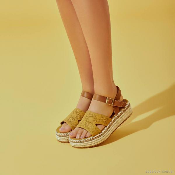 diseño de calidad b6725 46b25 sandalias base de yute primavera verano 2018 – Calzados ...