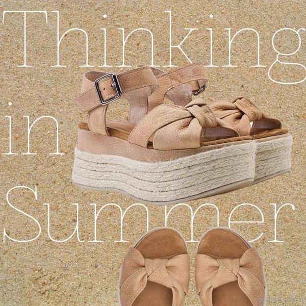 sandalias con base de yute verano 2018 - Maggio Rossetto