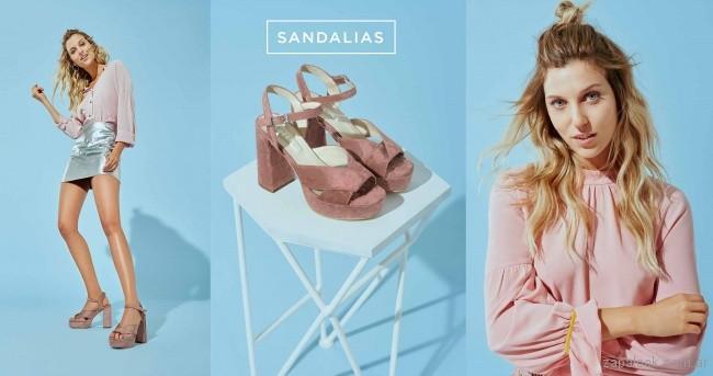 sandalias de gamuza primavera verano 2018 - Calzados Lucerna