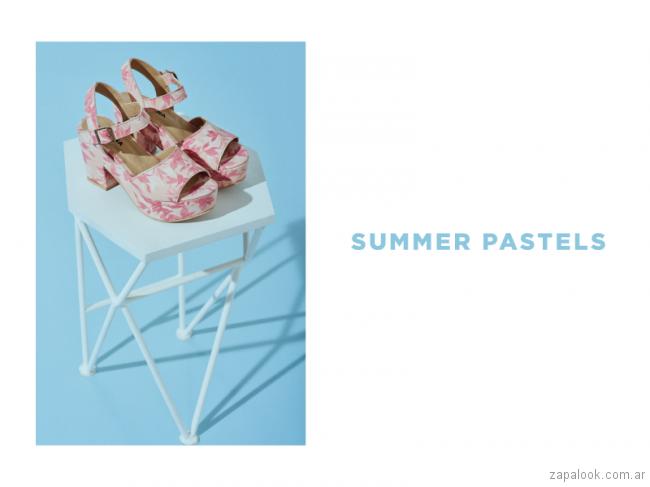 sandalias estampadas primavera verano 2018 - Calzados Lucerna