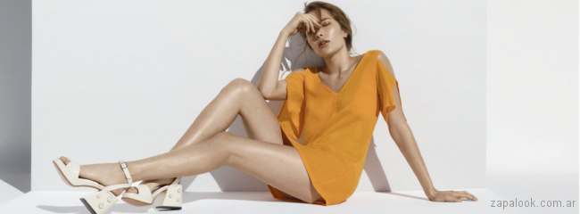 sandalias taco con perlas verano 2018 Sibyl Vane