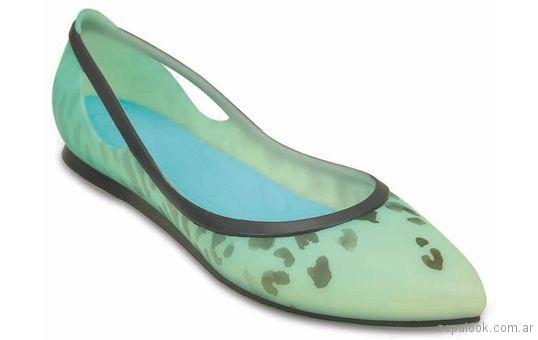Zapato en punta Crocs verano 2018
