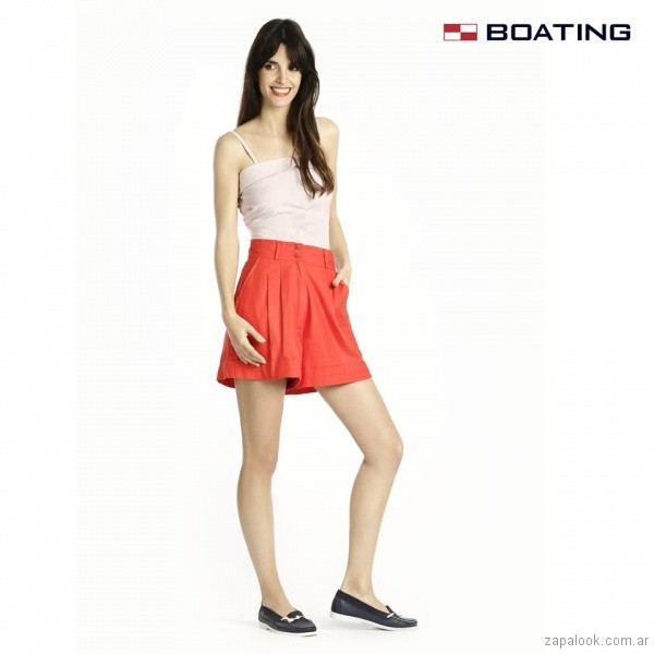 mocasines azules verano 2018 - Boating