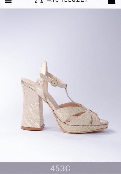 Sandalias crocco cuero verano 2018 - Micheluzzi