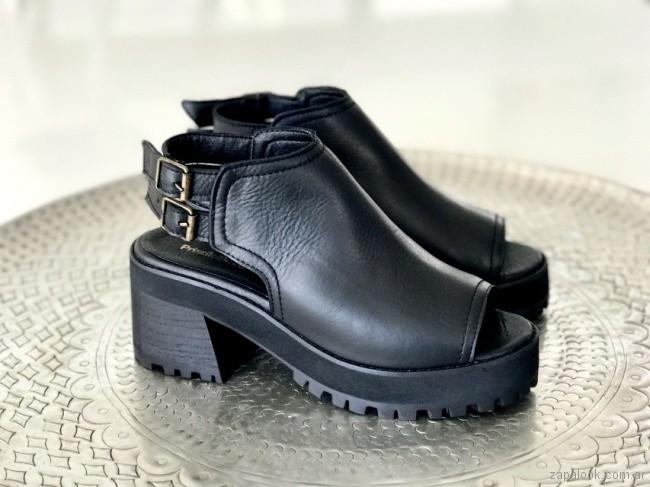 sandalias negras verano 2018 Priscila Bella