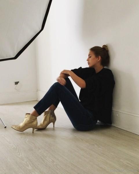 Botas doradas invierno 2018 - SOfi Martire