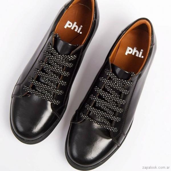 Zapatos abotinados para mujer invierno 2018 - Phi Shoes